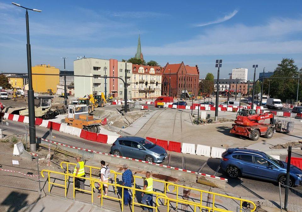 Ulica Bernardyńska częściowo otwarta!